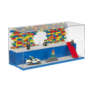 Дисплей для деталей LEGO Play & Display Iconic, синий