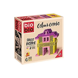 "Конструктор Bioblo ""Colour combo: Sweet home"", 40 биоблоков"